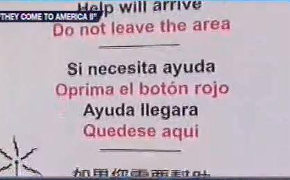 emergency distress beacon 3 languages