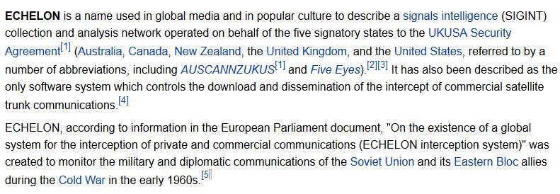 wikipedia echelon