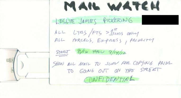 bookstore owner mail begin monitored