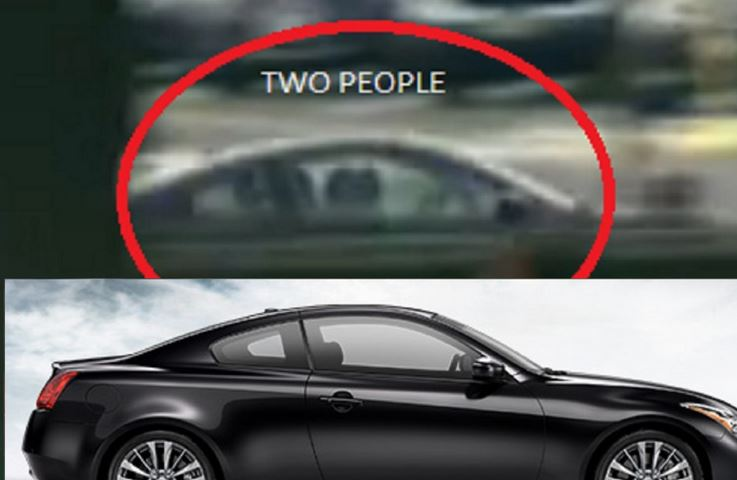 two people in car