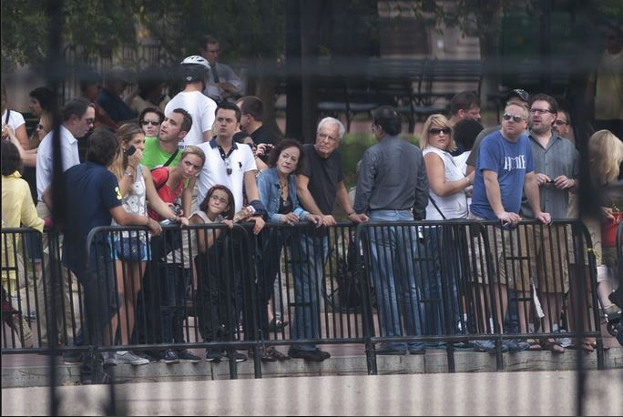 DC spectators